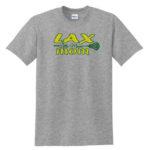 LAX Grey Tee LAX Mom Large Stick