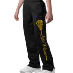 LM PST91_YPST91 Pants with Large LAX Stick_Glitter