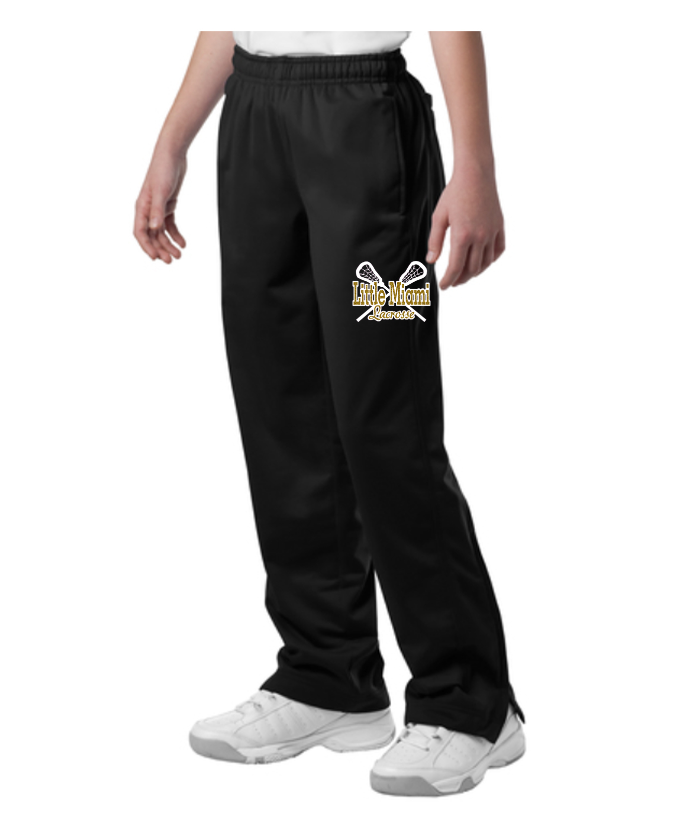 LM PST91_YPST91 Pants with Small LAX Sticks