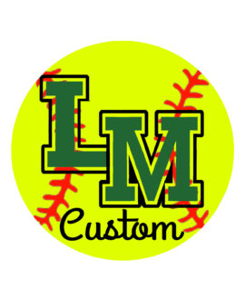 LM Fastpitch Car Decal