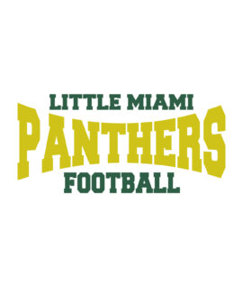 LM Football Car Decal