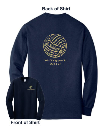 2018 Volleyball Shooting Shirt Long Sleeve