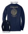 2018 Volleyball Shooting Shirt Long Sleeve Name on Back