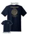 2018 Volleyball Shooting Shirt Short Sleeve Name on Back