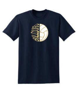 Sideways Volleyball_Navy Tee