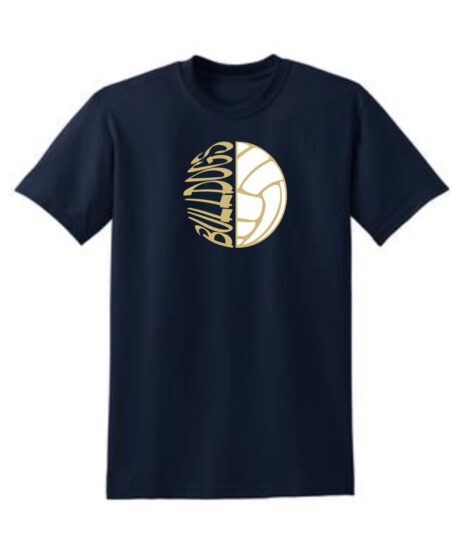 Sideways Volleyball_Navy Tee