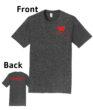 O_Monarchs Gymnast Flips Stuff_Dark Grey T-Shirt
