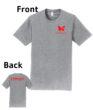O_Monarchs Gymnast Flips Stuff_Light Grey T-Shirt