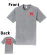O_Monarchs Gymnast G MNASTICS_Light Grey T-Shirt
