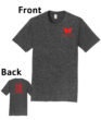O_Monarchs Love Gymnastics_Dark Grey T-Shirt