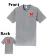 O_Monarchs Love Gymnastics_Light Grey T-Shirt
