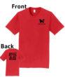 O_Monarchs Vault Floor Bars Beam_Red T-Shirt