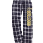 Bulldogs Navy White Flannel Pants