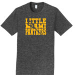 LM Lacrosse Word with Missing Stick_Dark Grey Tee