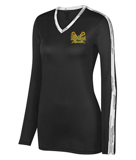 Ladies Vroom Jersey with LAX Left Chest Logo